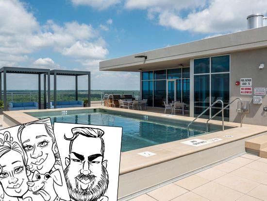 Pool Party Entertainment - Two Twelve Clayton