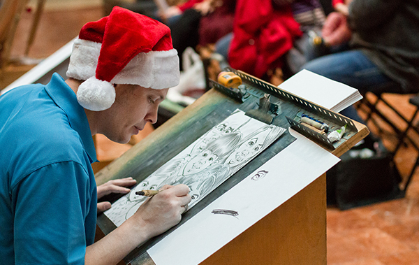 Caricatures for Kids Holiday Parties in St. Louis