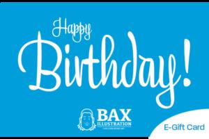 Bax Illustration E-gift card